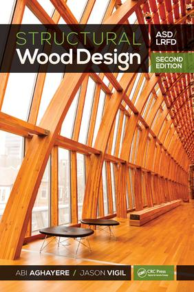 Structural Wood Design – ASD/LRFD, 2nd ed: 2nd Edition (Hardback) book cover
