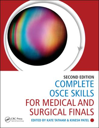Complete OSCE Skills for Medical and Surgical Finals: 2nd Edition (Paperback) book cover