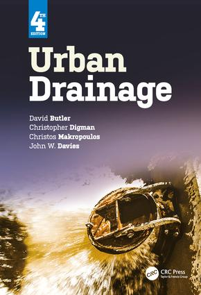 Urban Drainage, Fourth Edition book cover