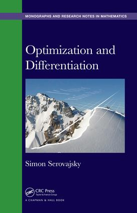 Optimization and Differentiation: 1st Edition (Hardback) book cover