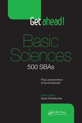 Get Ahead! Basic Sciences: 500 SBAs, 1st Edition (Paperback) book cover