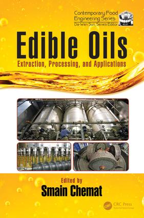 Edible Oils: Extraction, Processing, and Applications, 1st Edition (Hardback) book cover