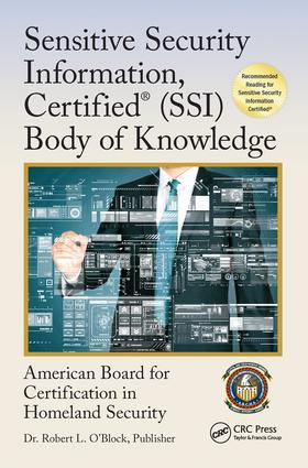 Sensitive Security Information, Certified® (SSI) Body of Knowledge book cover