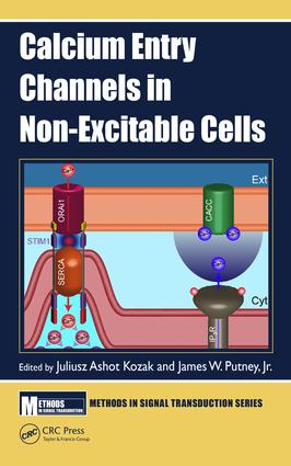 Calcium Entry Channels in Non-Excitable Cells: 1st Edition (Hardback) book cover