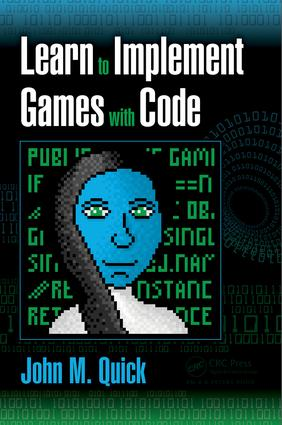 Learn to Implement Games with Code: 1st Edition (Paperback) book cover
