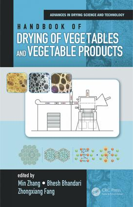 Handbook of Drying of Vegetables and Vegetable Products book cover