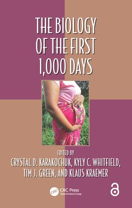 The Biology of the First 1,000 Days: 1st Edition (Hardback) book cover