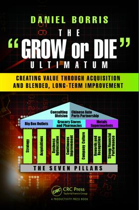 The Grow or Die Ultimatum: Creating Value Through Acquisition and Blended, Long-Term Improvement Formulas, 1st Edition (Hardback) book cover