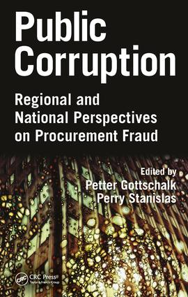 Public Corruption: Regional and National Perspectives on Procurement Fraud, 1st Edition (Hardback) book cover