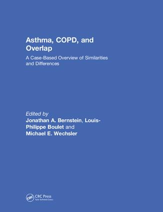 Asthma, COPD, and Overlap: A Case-Based Overview of Similarities and Differences, 1st Edition (Hardback) book cover