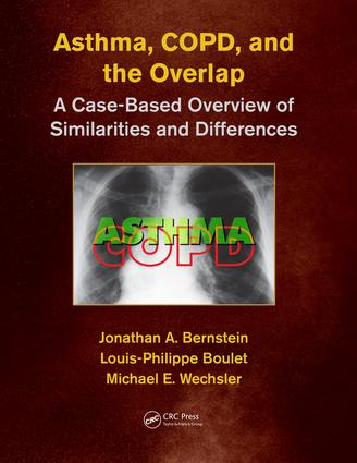 Asthma, COPD, and Overlap: A Case-Based Overview of Similarities and Differences, 1st Edition (Paperback) book cover