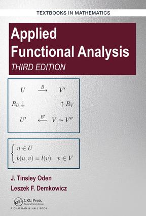 Applied Functional Analysis, Third Edition book cover