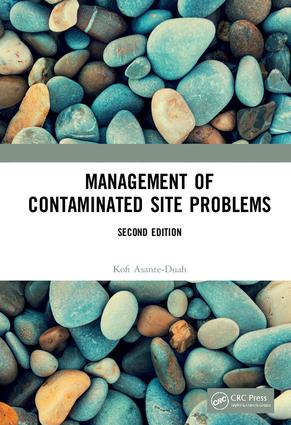 Management of Contaminated Site Problems, Second Edition: 2nd Edition (Hardback) book cover