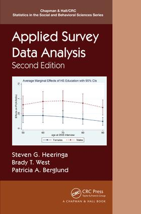 Applied Survey Data Analysis, Second Edition book cover