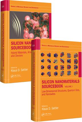 Silicon Nanomaterials Sourcebook, Two-Volume Set book cover