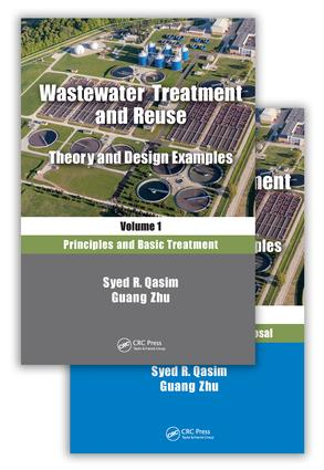 Wastewater Treatment and Reuse: Theory and Design Examples: (Two-Volume Set), 1st Edition (Hardback) book cover