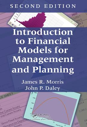 Introduction to Financial Models for Management and Planning: 2nd Edition (Hardback) book cover
