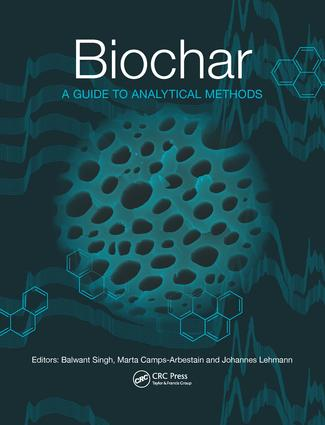 Biochar: A Guide to Analytical Methods, 1st Edition (Paperback) book cover
