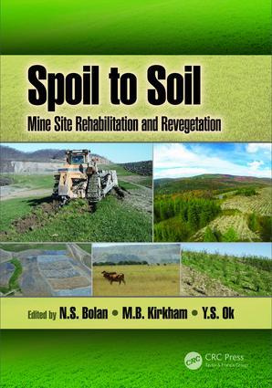 Spoil to Soil: Mine Site Rehabilitation and Revegetation (Hardback) book cover