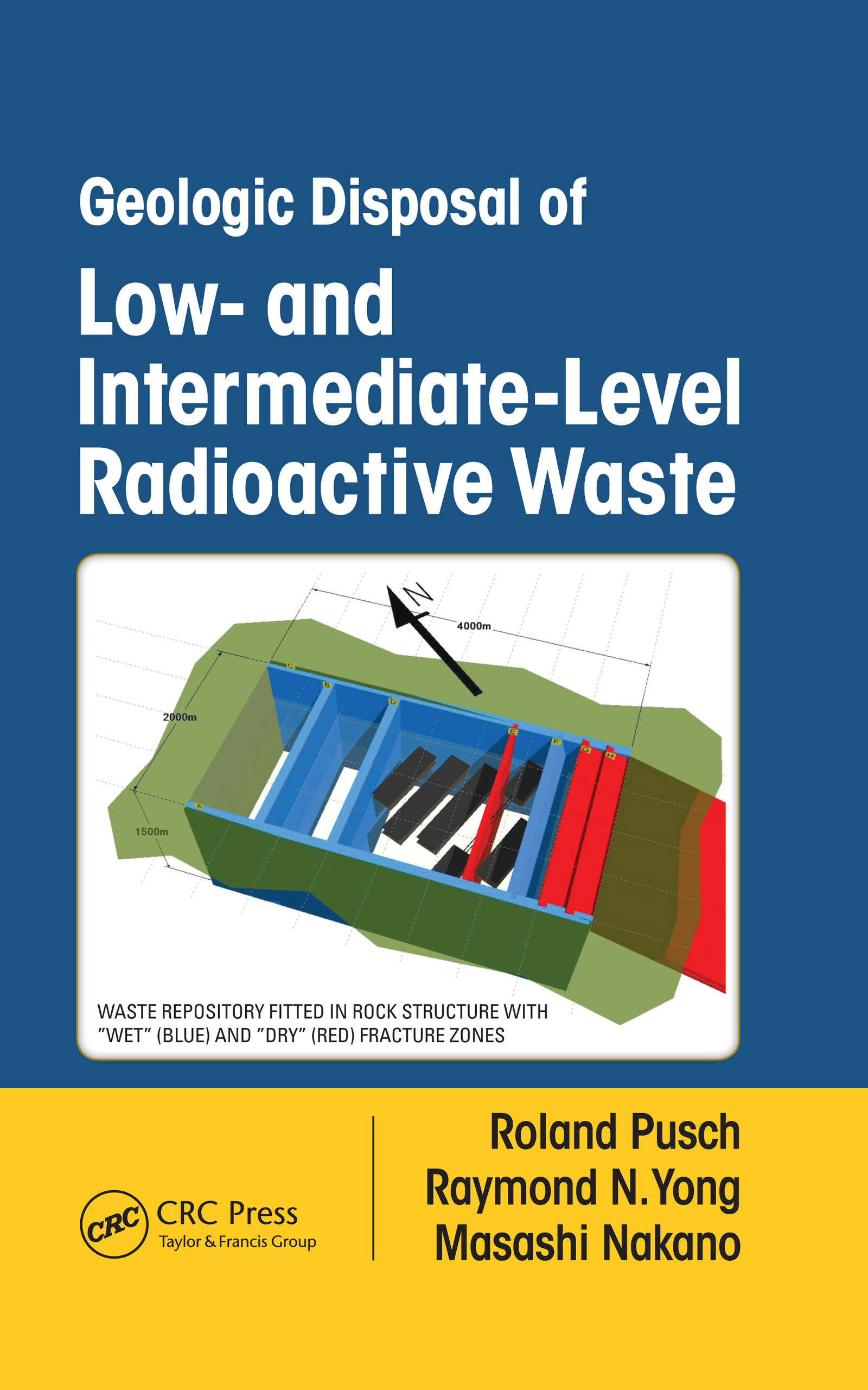 Geologic Disposal of Low- and Intermediate-Level Radioactive Waste: 1st Edition (Hardback) book cover