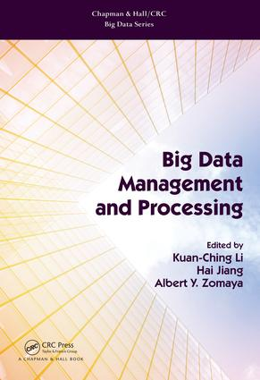 Big Data Management and Processing: 1st Edition (Hardback) book cover