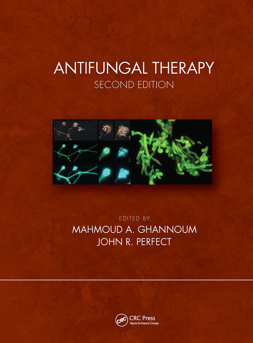 Antifungal Therapy, Second Edition: 2nd Edition (Hardback) book cover