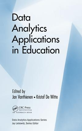 Data Analytics Applications in Education: 1st Edition (Hardback) book cover