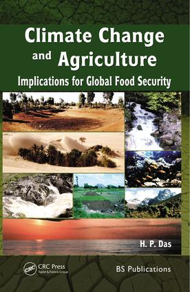 Climate Change and Agriculture: Implication for Global Food Security, 1st Edition (Hardback) book cover