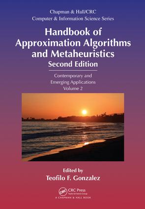 Handbook of Approximation Algorithms and Metaheuristics: Contemporary and Emerging Applications, Volume 2, 2nd Edition (Hardback) book cover