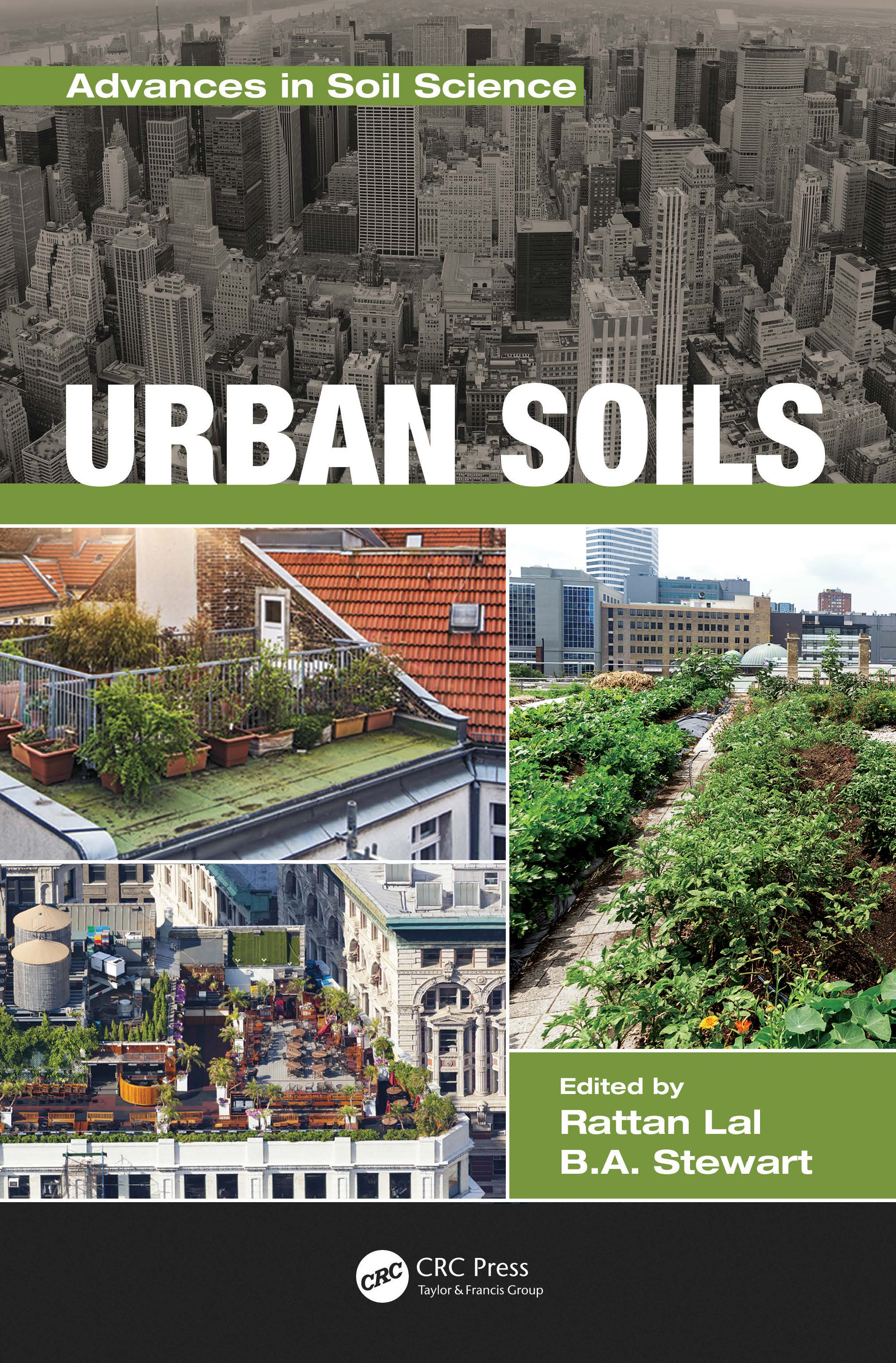Urban Soils (Hardback) book cover