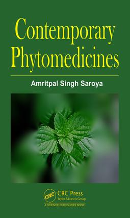 Contemporary Phytomedicines: 1st Edition (Hardback) book cover
