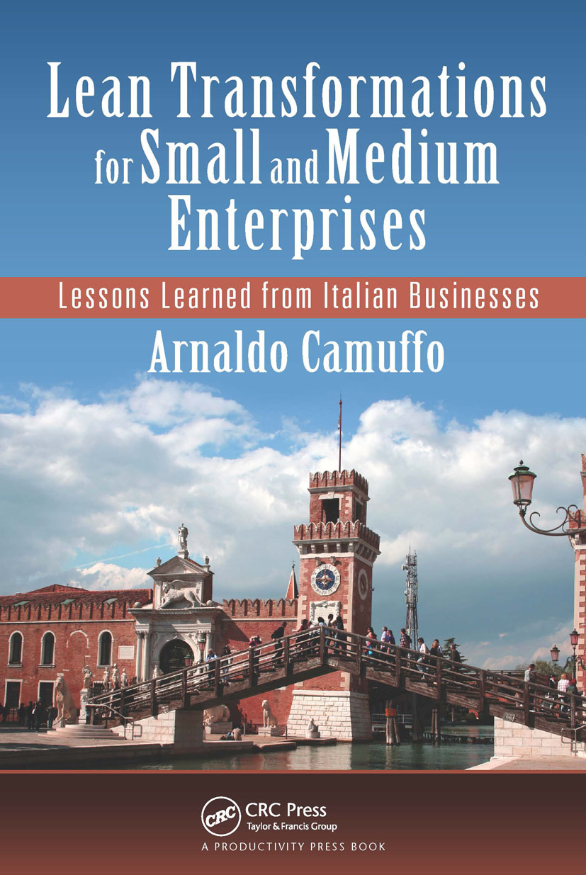 Lean Transformations for Small and Medium Enterprises: Lessons Learned from Italian Businesses, 1st Edition (Paperback) book cover