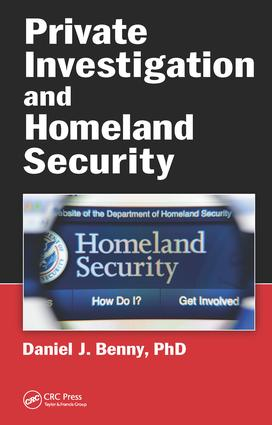 Private Investigation and Homeland Security book cover