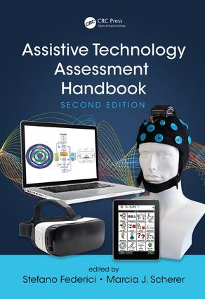 Assistive Technology Assessment Handbook, Second Edition: 2nd Edition (Hardback) book cover