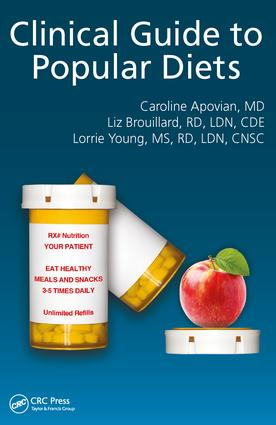 Clinical Guide to Popular Diets: 1st Edition (Paperback) book cover