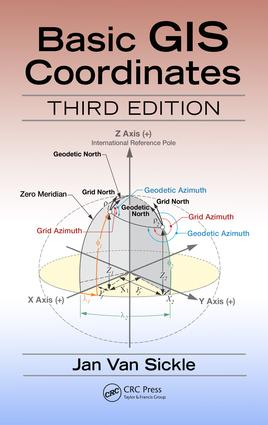 Basic GIS Coordinates: 3rd Edition (Hardback) book cover