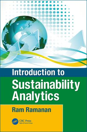 Introduction to Sustainability Analytics: 1st Edition (Hardback) book cover
