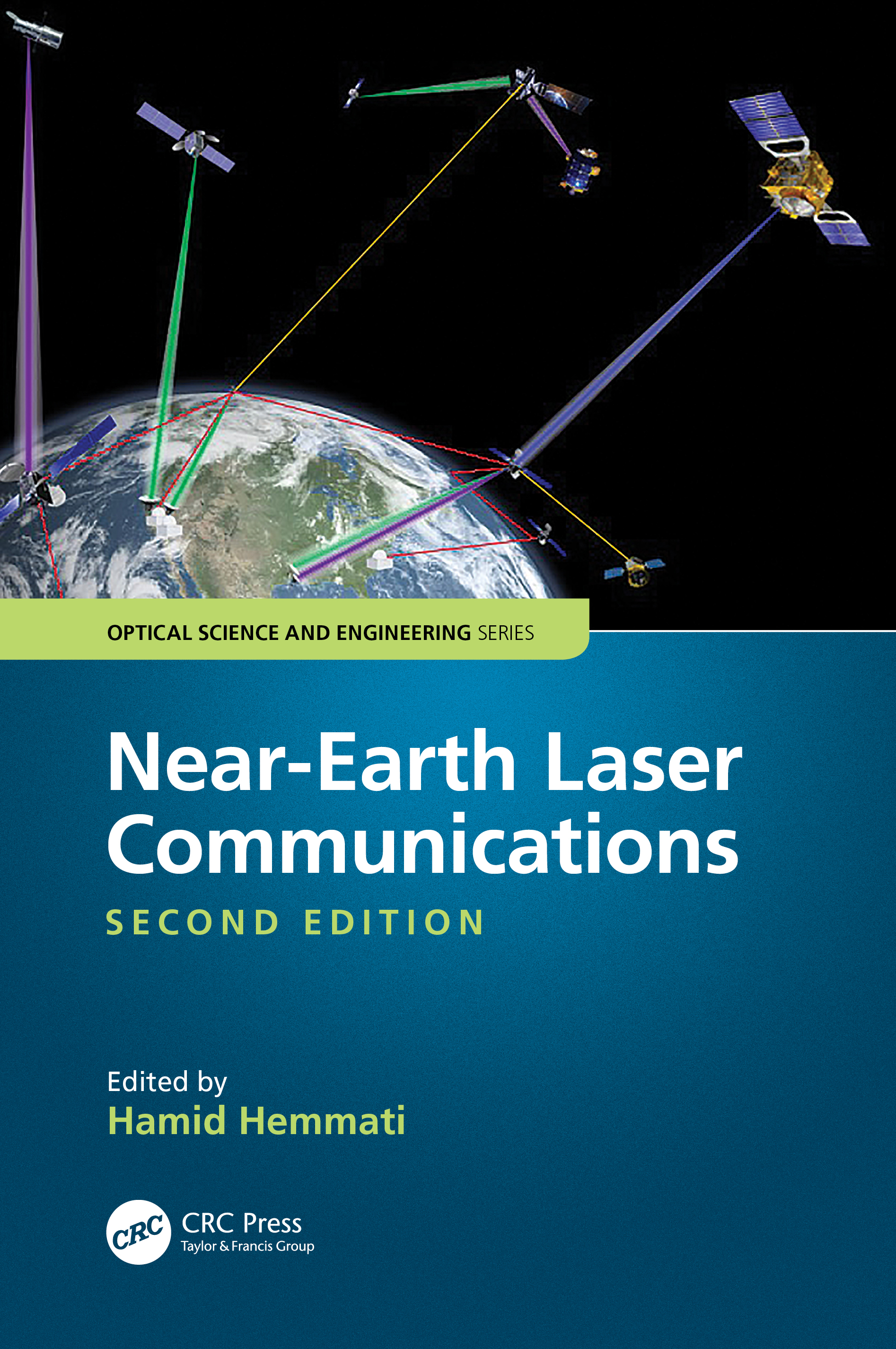 Near-Earth Laser Communications, Second Edition book cover