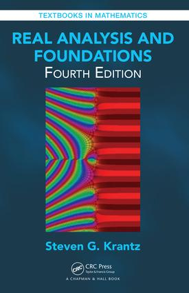 Real Analysis and Foundations book cover