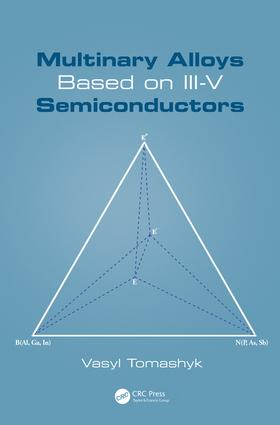 Multinary Alloys Based on III-V Semiconductors: 1st Edition (Hardback) book cover