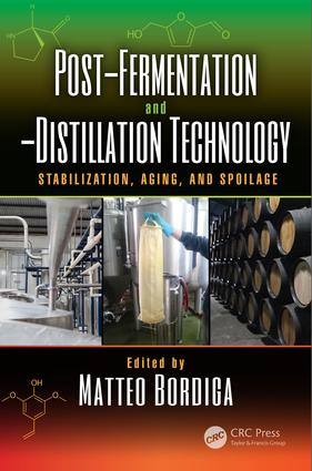 Post-Fermentation and -Distillation Technology: Stabilization, Aging, and Spoilage, 1st Edition (Hardback) book cover