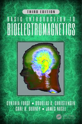 Basic Introduction to Bioelectromagnetics, Third Edition: 3rd Edition (Hardback) book cover