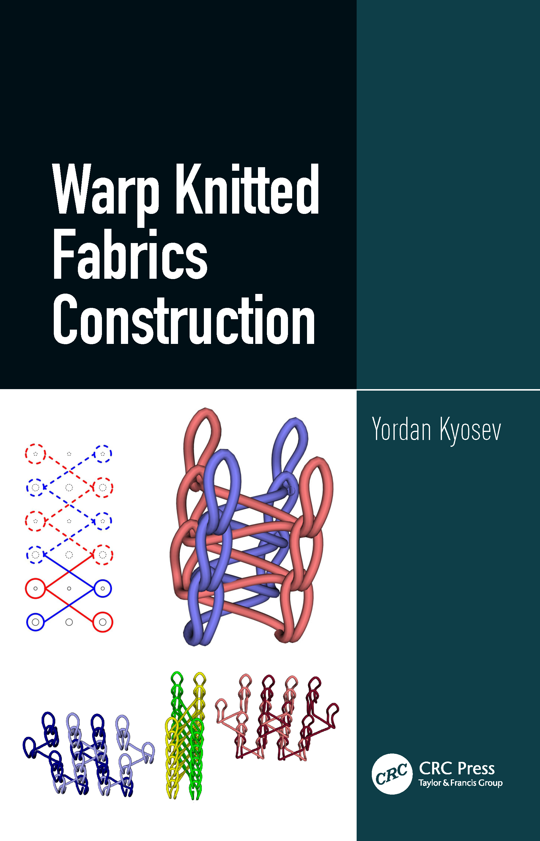 Warp Knitted Fabrics Construction: 1st Edition (Hardback) book cover