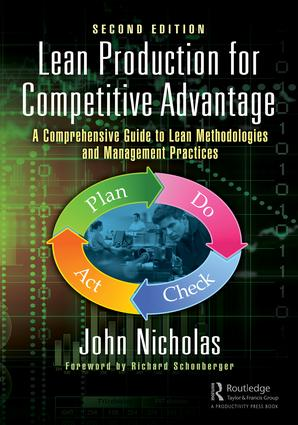 Lean Production for Competitive Advantage: A Comprehensive Guide to Lean Methodologies and Management Practices, Second Edition, 2nd Edition (Hardback) book cover