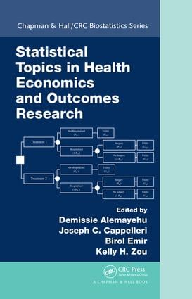 Statistical Topics in Health Economics and Outcomes Research book cover