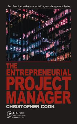 The Entrepreneurial Project Manager book cover