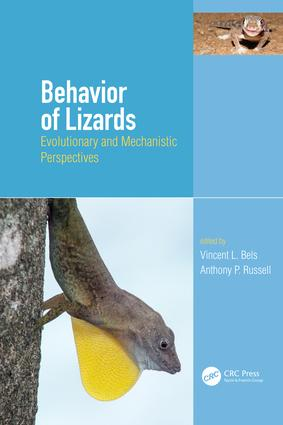 Behavior of Lizards: Evolutionary and Mechanistic Perspectives book cover