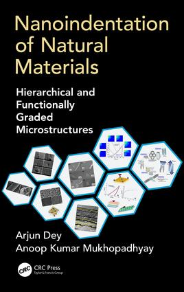 Nanoindentation of Natural Materials: Hierarchical and Functionally Graded Microstructures, 1st Edition (Hardback) book cover
