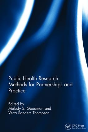 Public Health Research Methods for Partnerships and Practice (Hardback) book cover