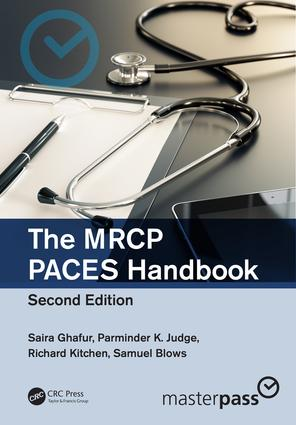 The MRCP PACES Handbook: 2nd Edition (Paperback) book cover